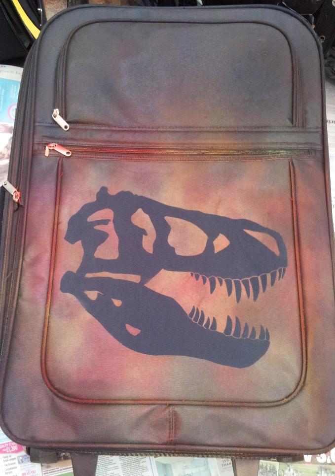 Jurassic (Cretaceous) Suitcase by Noweia