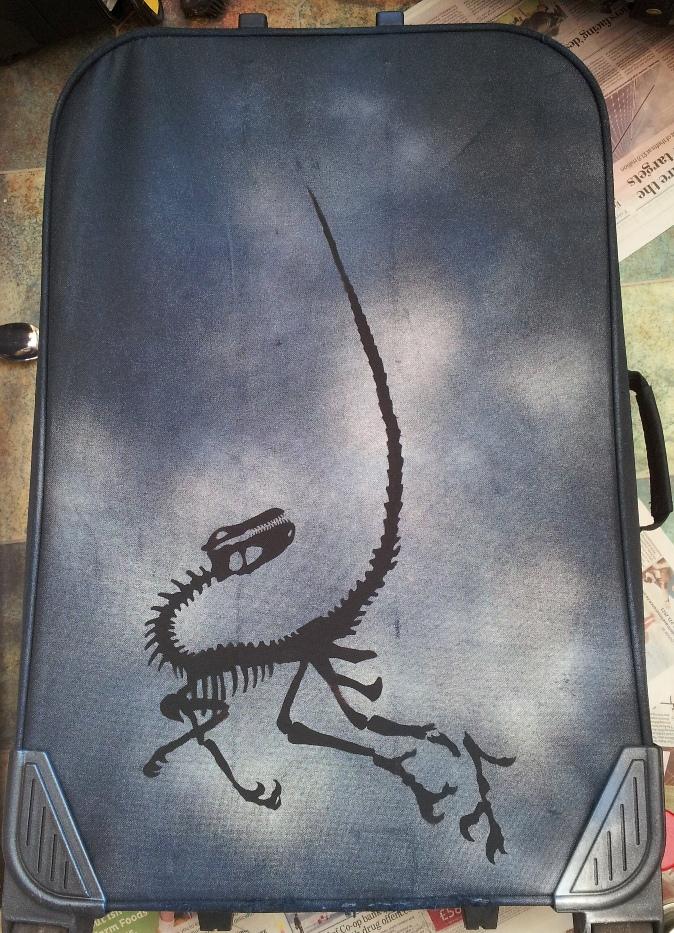 Jurassic (Cretaceous) Suitcase 2 by Noweia