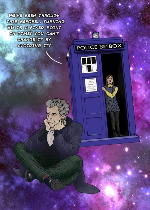 Happy Birthday Peter Capaldi by Noweia