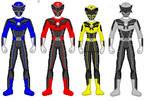 Power Rangers Avian Psyche