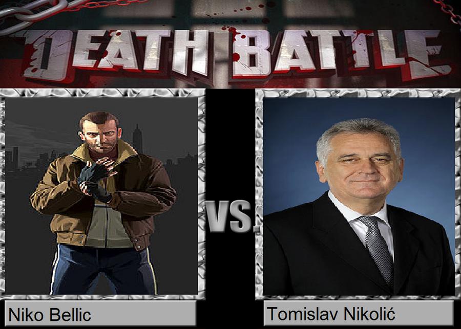 death battle niko bellic vs tomislav nikolic by
