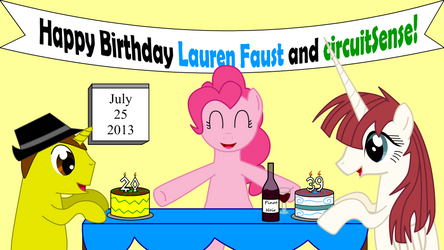 Ponified Birthdays: Lauren Faust and Me!