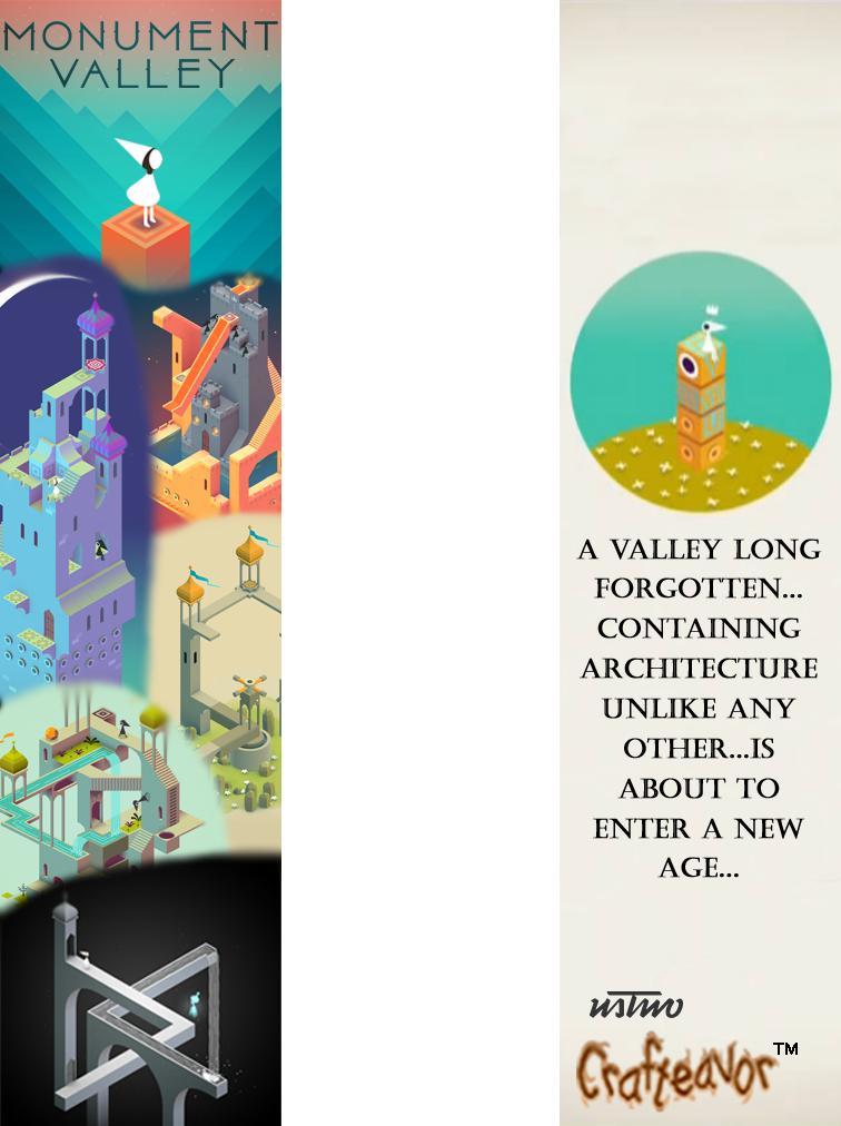 Monument Valley Bookmark by weirdnwild91