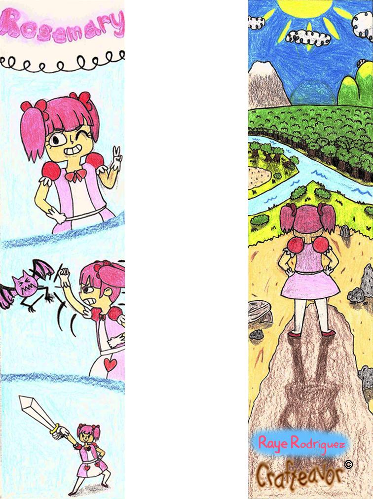 Rosemary Bookmark by weirdnwild91