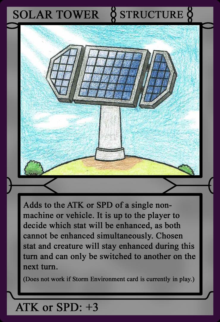 Card Warfare - Solar Tower by weirdnwild91
