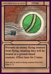 Card Warfare - Anti-Grav Ball and Chain