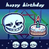 happy 1st birthday, smugsans.