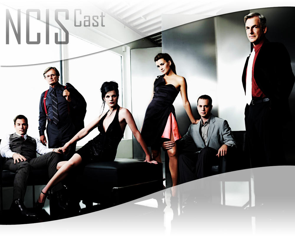 NCIS Cast by KRaGG-presents