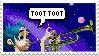 TootTootD Stamp by WolfyEmmerichXII