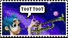TootTootD Stamp by WolfyEmmerichXII