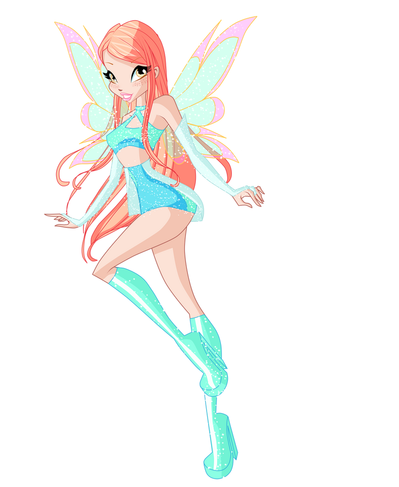 Alison, fairy of Water by LuisFrelis