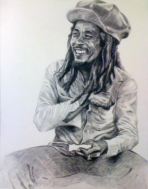 Bob Marley by AaronRichardson