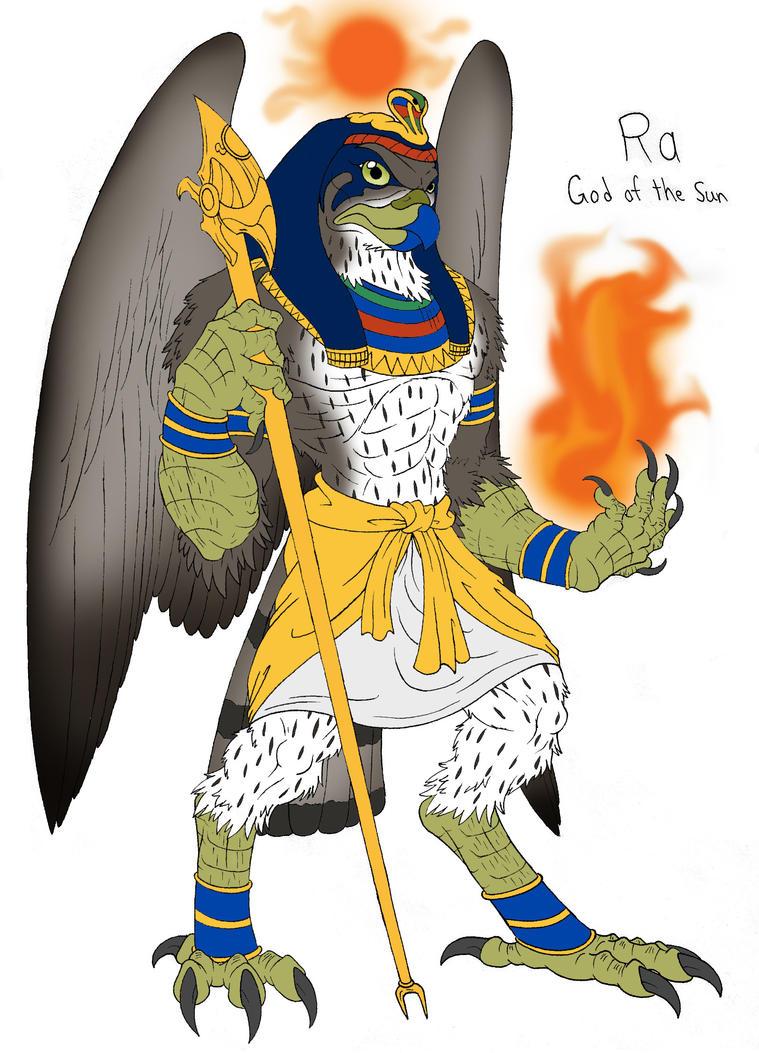 Egyption God Ra by demongirl99 on DeviantArt
