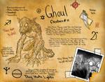 Cross's Journal: Ghoul