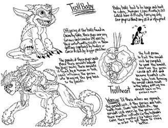 Troll Baby by demongirl99