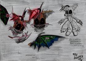 CREEPYPASTA - Sketch 3 - TAILS DOLL by ZaxsSouven