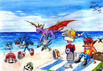 PLATFORM HEROES -competition- PIC NIC AT THE BEACH