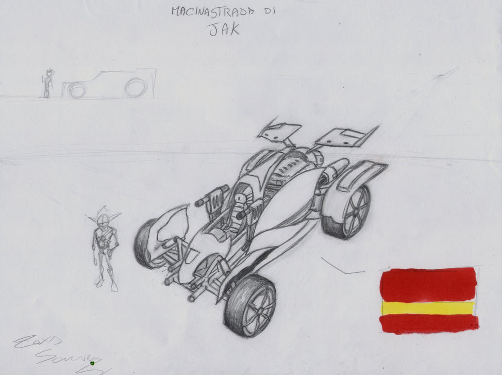 Ratchet E Jak - Macinastrada di Jak by x723