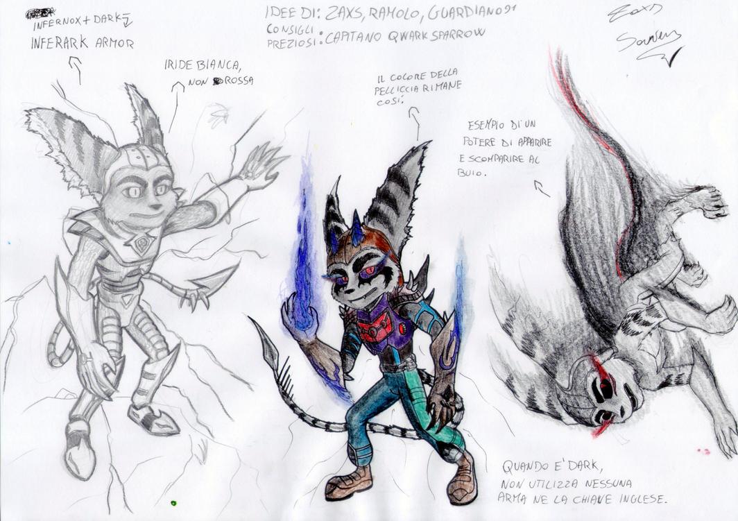 Dark Ratchet - Sketch 6 by x723