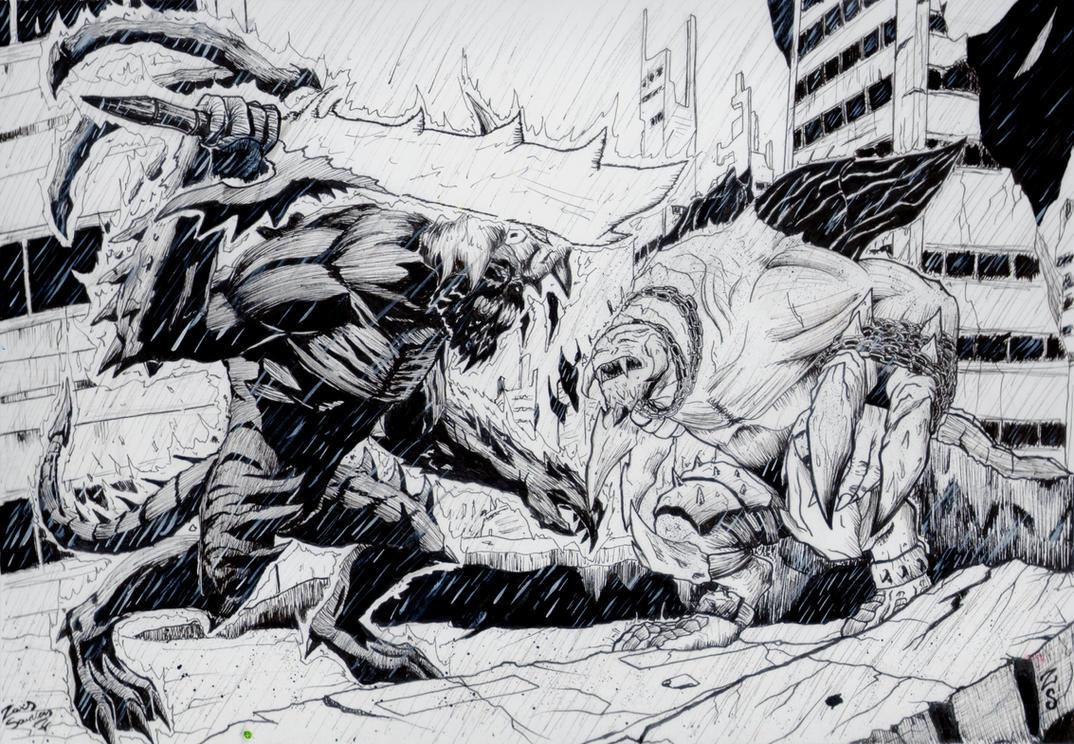 Darksiders - Chaos War vs Demon Trauma by x723
