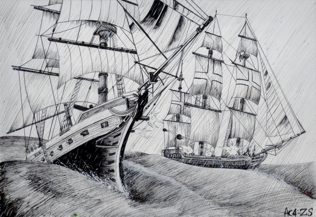 Assassin's Creed 4 Black Flag - Galeoni by x723