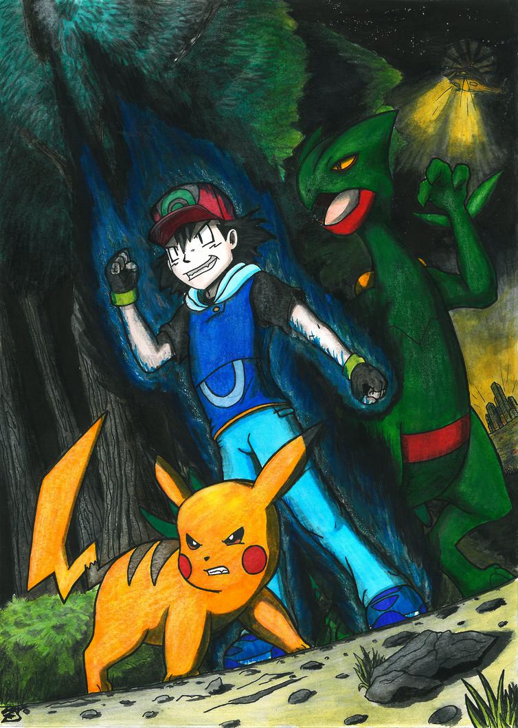 Pokemon - Dark Ash by x723 on DeviantArt