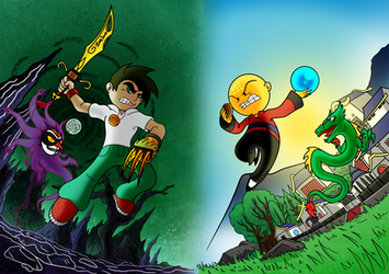 XIAOLIN SHOWDOWN - For BETTER Or For WORSE by ZaxsSouven