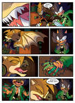 SONIC OC - Commissioned - Part 2 - BECOME DRAGONS by ZaxsSouven