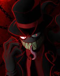 VILLAINOUS - my Style - BLACK HAT by ZaxsSouven