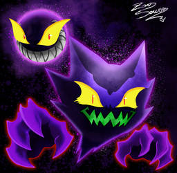 POKEMON - my style - GASTLY and HAUNTER