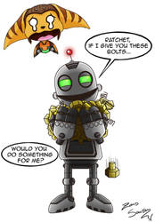 RATCHET AND CLANK - comic - THE POWER OF BOLTS