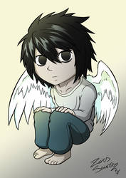 DEATH NOTE - chibi style - L