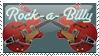Rockabilly stamp by missjesswinkwink