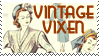 Vintage clothing stamp by missjesswinkwink