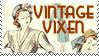 Vintage clothing stamp by missjesswinkwink
