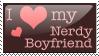 Nerdy Boyfriend stamp by missjesswinkwink