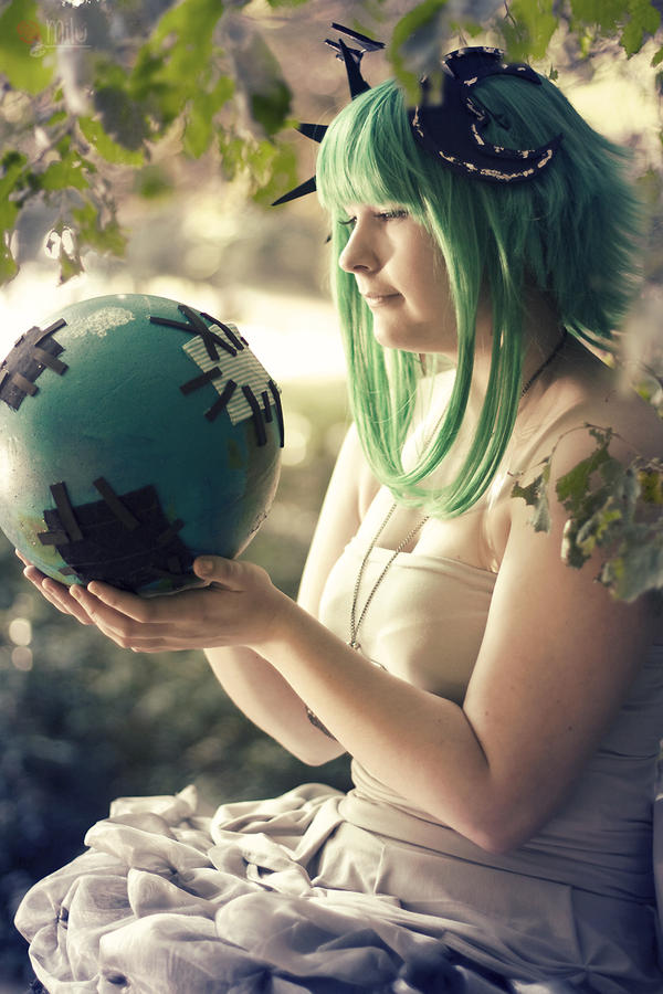 Vocaloid - Cheap worlds might act up by Another-Rose