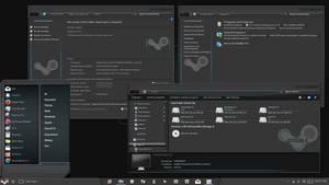 SteamII Theme for Windows 10TH2 AKA 1511 AKA 10586