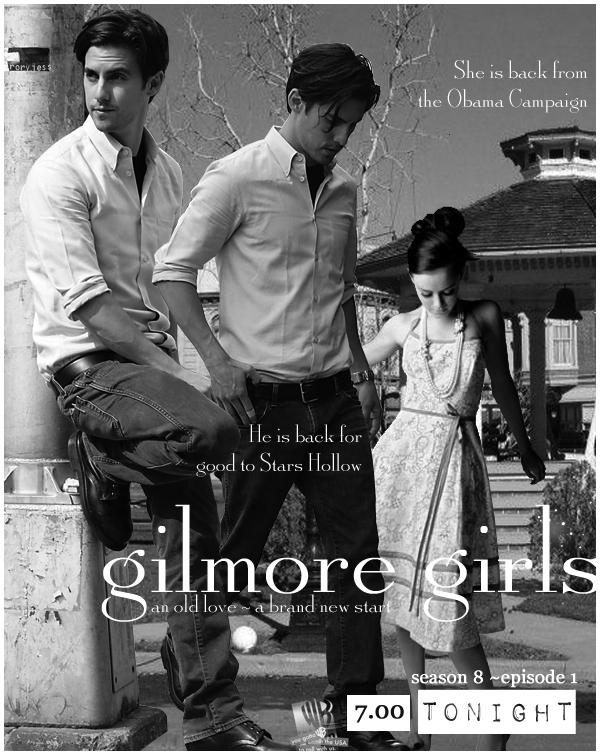 gilmore girls season 8 ep1 by calouette on deviantart. Black Bedroom Furniture Sets. Home Design Ideas