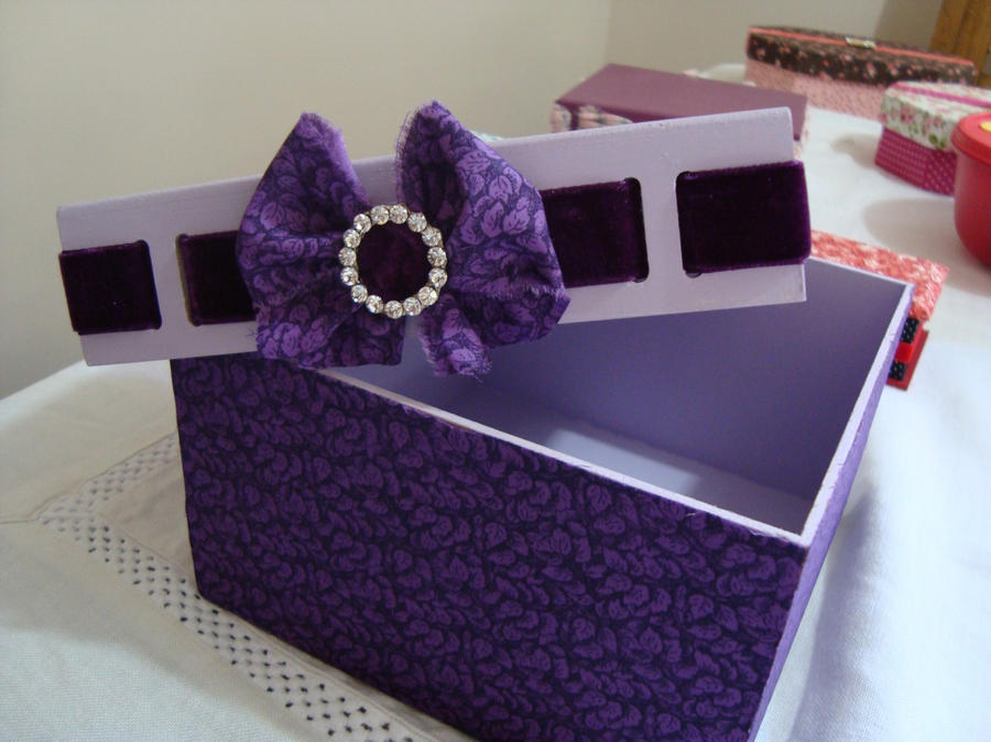 Handmade Purple Jewelry Box open by tatianarc on DeviantArt