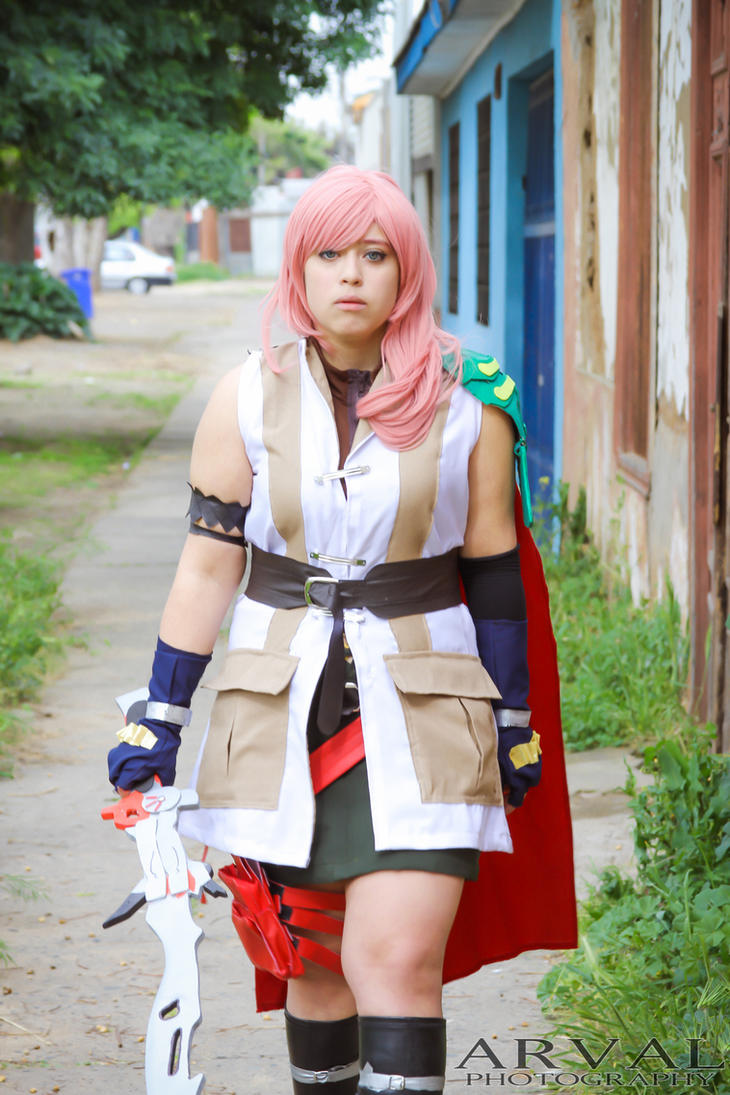Final Fantasy XIII by SakuHarunoo
