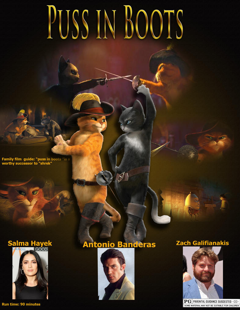 Puss In Boots Movie Poster | www.pixshark.com - Images ...