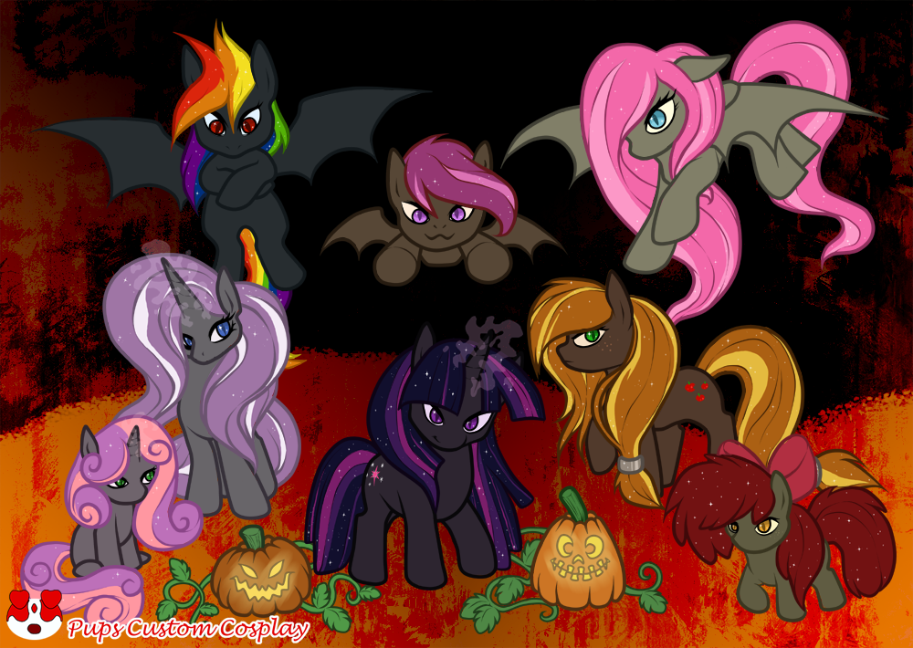 Nightmare ponies by Phin-and-Ferb-fan101 on DeviantArt