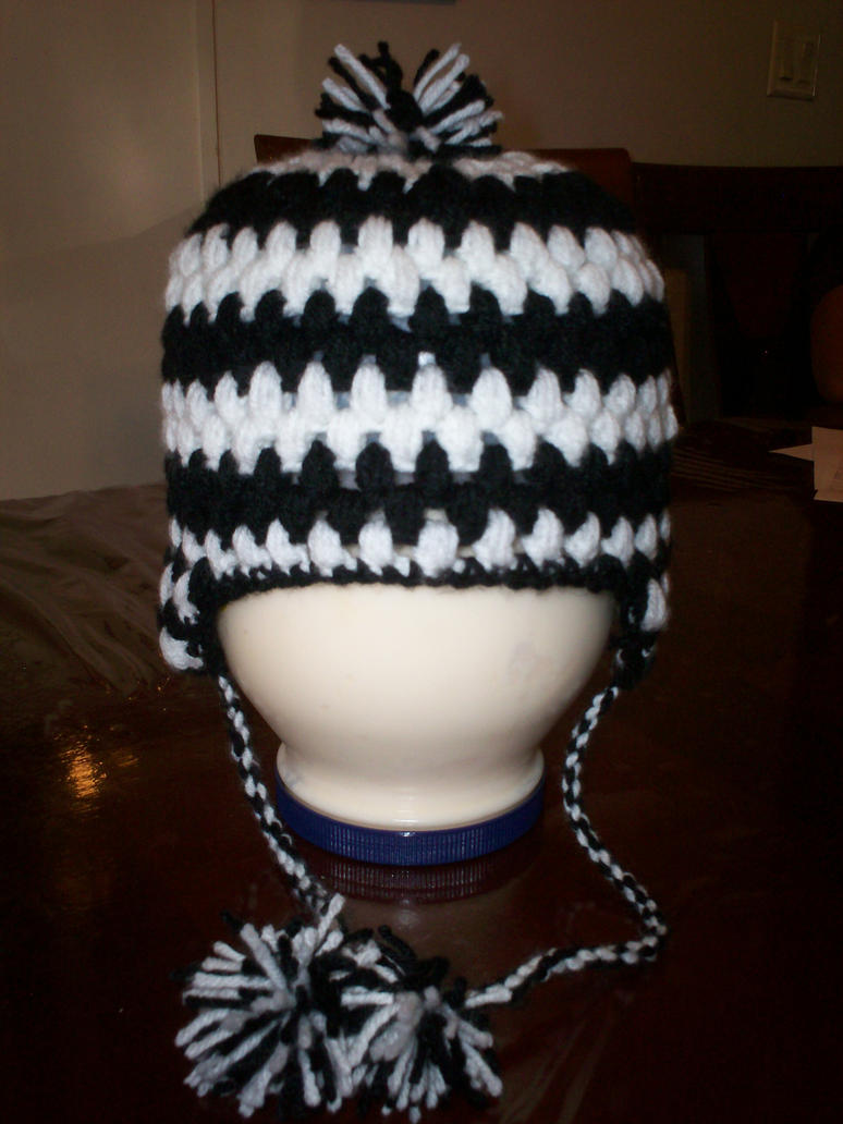 Crochet Patterns Hat With Ear Flaps : Crochet Hat with Ear Flaps by Toastersaurus on DeviantArt