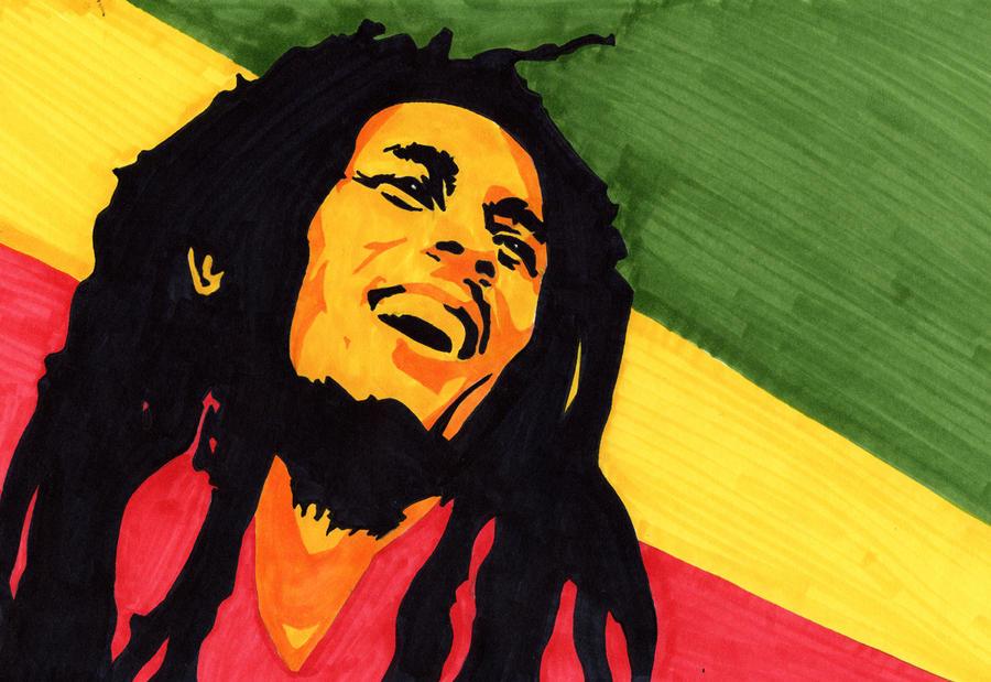 Imagem Do Reggae ~ Bob Marley Light Up The Darkness by TequilaMonkey on DeviantArt