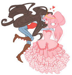 Bubblegum Kisses by CrystallizedTwilight