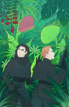 into the jungle