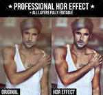 Professional HDR Effect Action