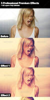 3 Professional Photographers Action Effects