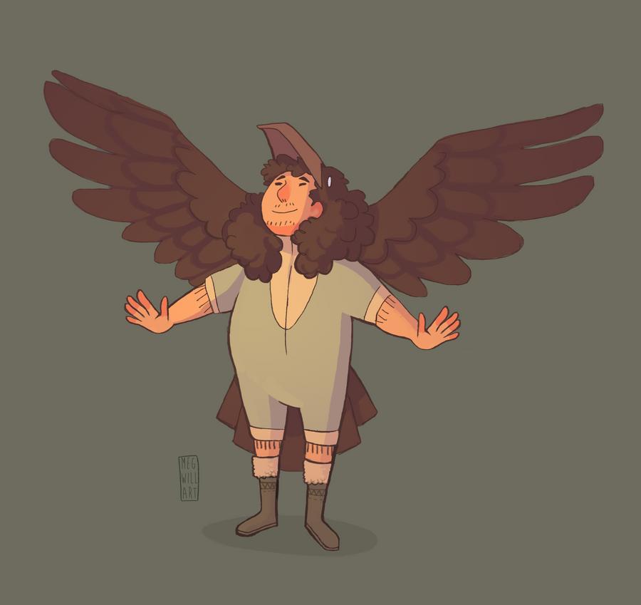 AT- Crow Man by Bearful